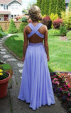Pd426 Charming V-Neck Prom Dress,Chiffon Prom Dress,Backless A-Line Prom Dresses uk