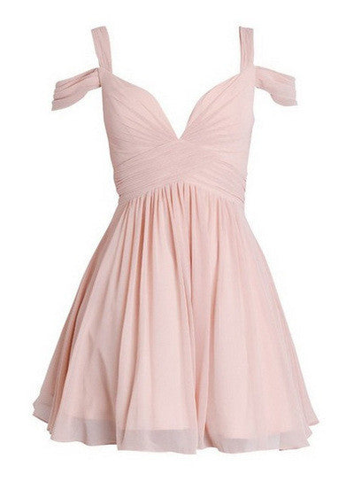 Pink Homecoming Dresses With Silver Beading Short Black Prom Dress PM331