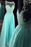 Real Beautiful Long Chiffon Prom Dresses,Pretty High Low Zipper Back Evening Dresses uk PM925