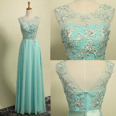 New Style Prom Dresses Chiffon Lace Prom Dress For Teens Backless Evening Dress Formal Dresses PH168