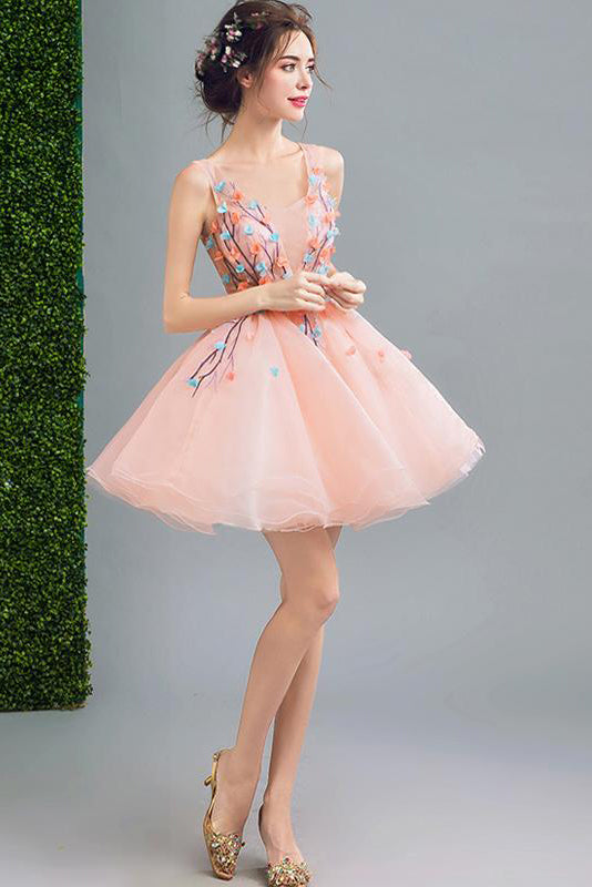 Above Knee Dresses For Prom