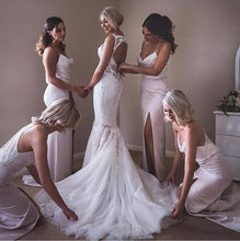 Long Bridesmaid Dresses uk