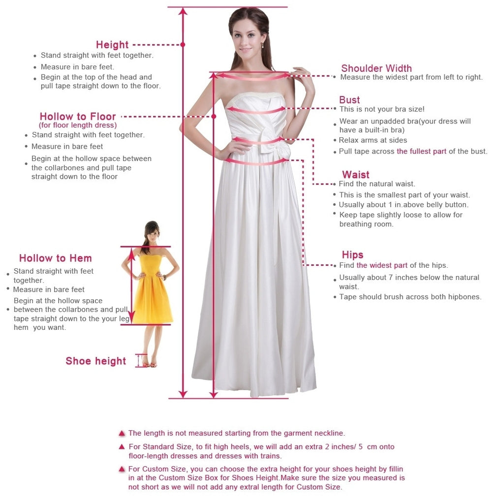 Charming A-Line Deep V-Neck Prom Dresses uk PM660