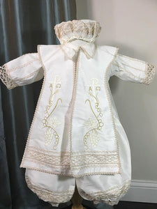 Ivory Baptism outfit for Boy