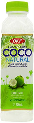 OKF Pure Premium Coconut Drink Original 500 ml (Pack of 20)