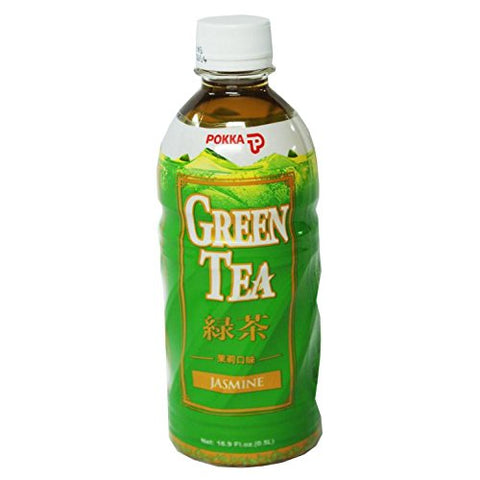 Pokka Jasmine Green Tea 500 ml (Pack of 6)