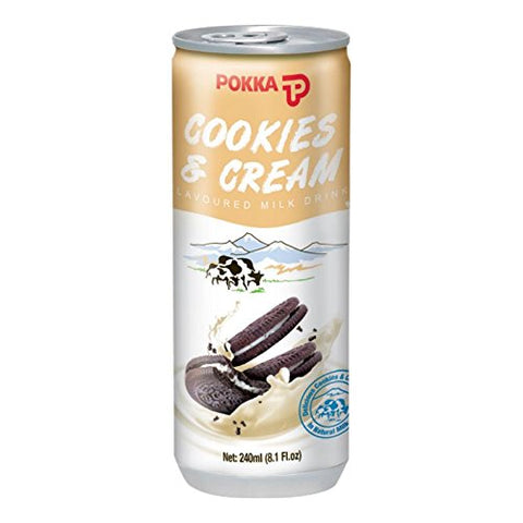 Pokka Cookies & Cream Milk
