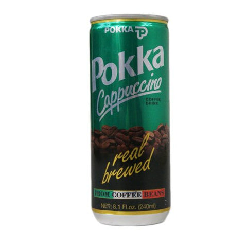 Pokka Cappuccino Coffee Drink - 30 x 240ml