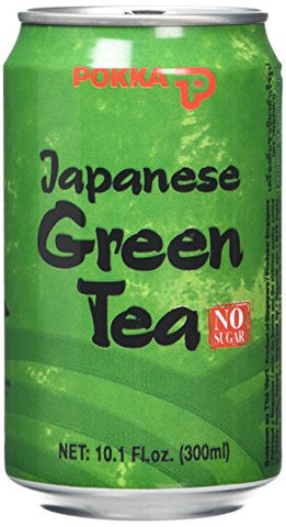 Pokka Japanese Green Tea 300 ml (Pack of 6)
