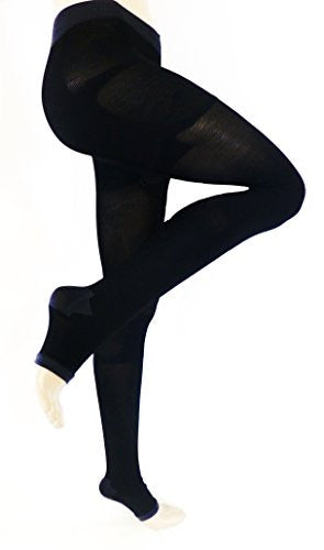 Lace Poet Black Ultimate Yoga/Sleep Compression Body Shaper/Legging 20-30 mmHg