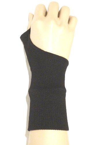 Lace Poet Black Compression Gel Support Wrist and Hand Brace Gloves