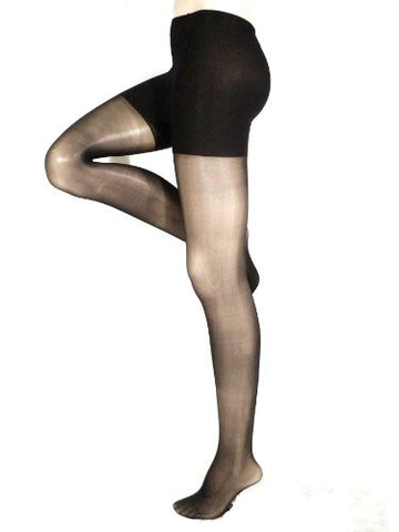 Lace Poet Firm Support Compression Stockings-Black; 30-40 mmHg