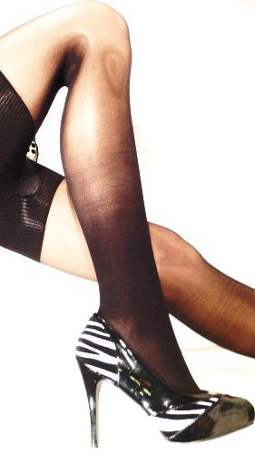 Extra Firm Support Compression Stockings-Black; 20-30 mmHg