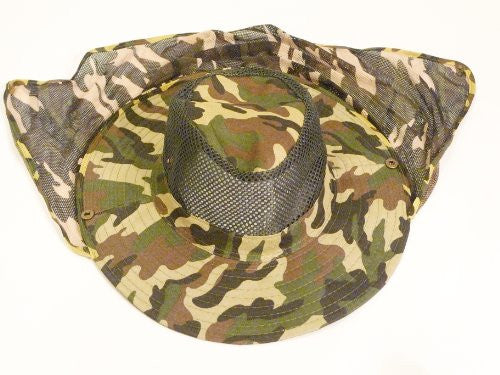 Ultra Jungle Camouflage Mosquito Netting Hat