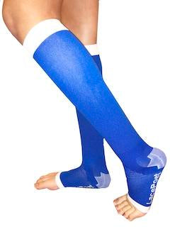Knee High Compression Toeless - Royal Blue