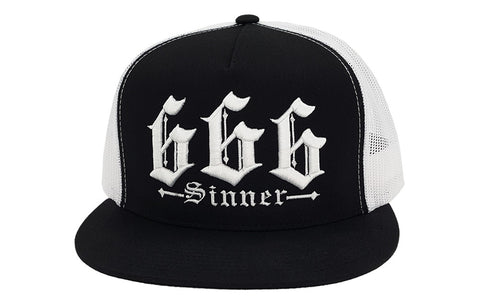 The Devil Made Me Do It Trucker Cap