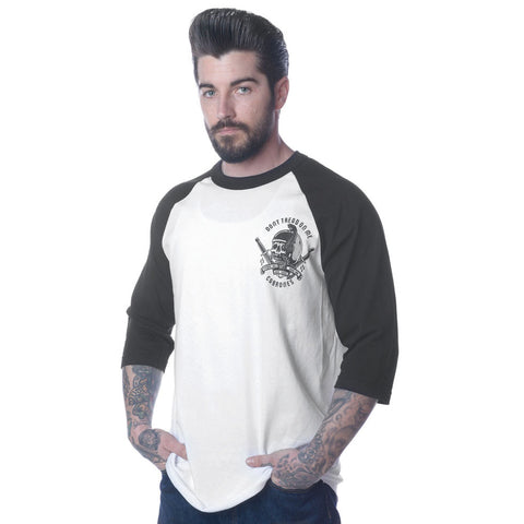 Don't Tread On Me Cabrones Raglan