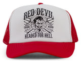 Headed For Hell Trucker Cap