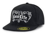 low life hat in black by Red Devil chopped life lowrider classic vintage car motorcycle