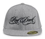 Heather Script Flat Bill Cap