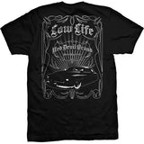 Vintage car lowrider low life t-shirt 50's rockabilly greaser rebel chopped lifestyle