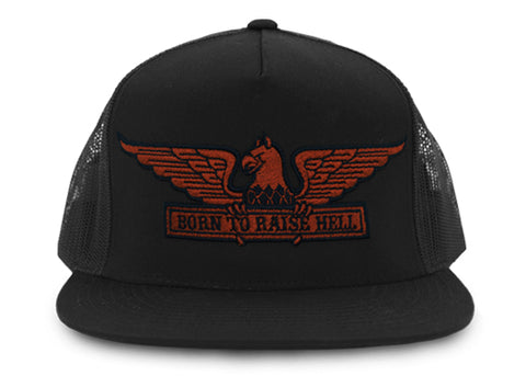 Born To Raise Hell Trucker Cap