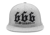 666 Sinner Flat Bill Cap