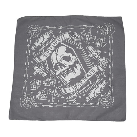 Cheat Death Black Bandanna