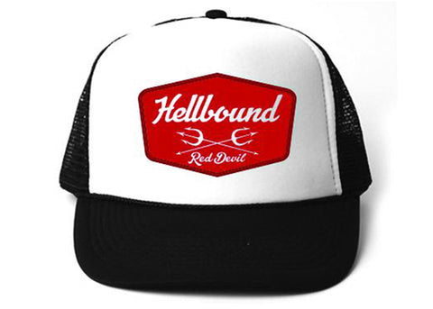 Hellbound Badge Trucker Cap