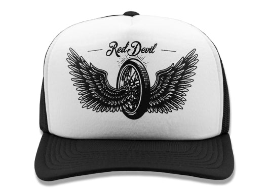 Thunder Curved Bill Trucker Cap