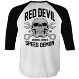 Speed Demon Raglan