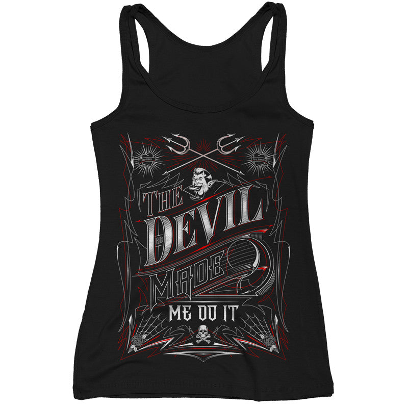 The Devil Made Me Do It Tank Top