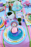 WONDERLAND Birthday Party- MAD HATTER Party- Alice Party- Alice STRAW FLAGS