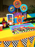 MONSTER TRUCK Party - Monster Truck GAME - Monster Jam Party - Race Car Party - Truck Party