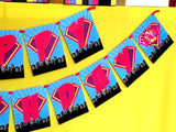 SUPERHERO Party- COMIC BOOK Party- SuperGIRL Birthday- Superhero CANDY TNT LABEL