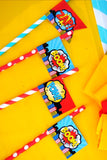 SUPERHERO Party - Superhero CANDY BAR WRAPPERS - Superhero Birthday Party - Comic Book Party - Superhero Party - Superhero