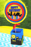 SUPERHERO Party- COMIC HERO Party- Superhero Birthday- Superhero BURSTS