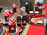 PIRATE Party - Pirate Birthday Party - Pirate COMPLETE - Red Pirate Party- Pirate Party Decorations - Ideas