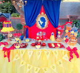 SNOW WHITE PARTY- PRINCESS PARTY- Princess Birthday Party- COMPLETE- Girl Birthday Party- Decorations- Ideas
