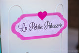 PARIS Party- AMERICAN in PARIS- Girl Party- Baking Party- Gracie- Doll Party- Cupcake- Baking- Poodle- PARTY TAGS