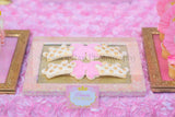PRINCESS Birthday - Sparkle SIGNS - Pink and Gold Party