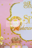 PRINCESS Party - Sparkle SIGN - She Leaves SPARKLES