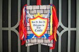 KNIGHT Party - Castle Party - Medieval Party - Knight - King Party - Royal Birthday Party - Dragon Party - NAPKIN WRAPPERS
