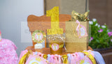 PRINCESS Birthday - Sparkle- FOOD LABELS - Pink and Gold Party
