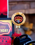 Hollywood BIRTHDAY - Movie Party - MOVIE SIGN- Cinema Party- Theater- Red Carpet Party