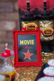 MOVIE THEATER Party- Hollywood PARTY - Movie PARTY - DRINKS BANNER- Red Carpet Party