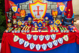 KNIGHT Party - Castle Party - Medieval Party - Knight - King Party - Royal Birthday Party - Dragon Party - BURSTS