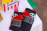 Hollywood Party- CINEMA Party - MOVIE CUPCAKE TOPPERS- Theater Party- Red Carpet Party