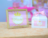 PRINCESS Birthday - Sparkle BOTTLE LABELS - Sparkle Party