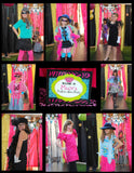 GLAMOUR GIRL - Animal Print - Fashion Party - Cheetah Party - Zebra - Diva - Rock Star - Neon CANDY WRAPPERS